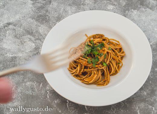 Tomaten-Pesto mit Kräutern und Chili | Rezept auf www.wallygusto.de