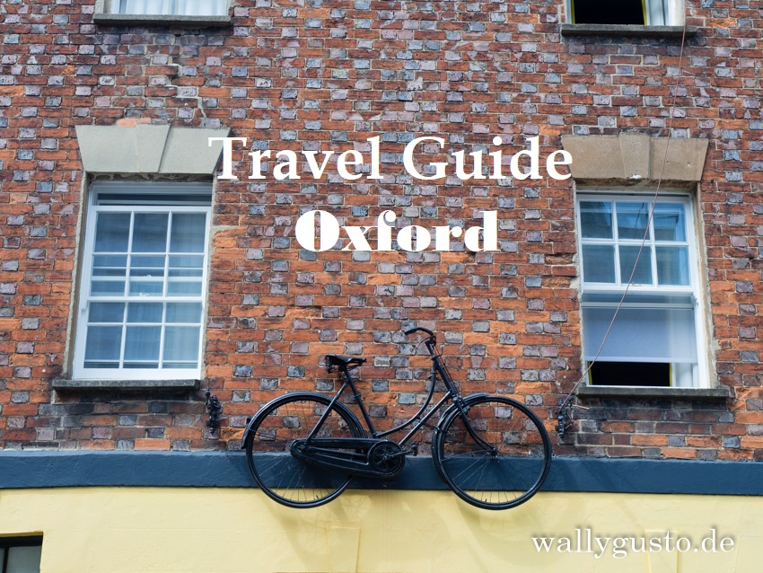 Travel Guide Oxford