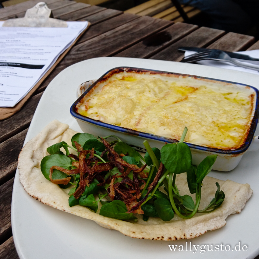 Travel Guide Oxford | Macaroni Cheese in der Turf Tavern