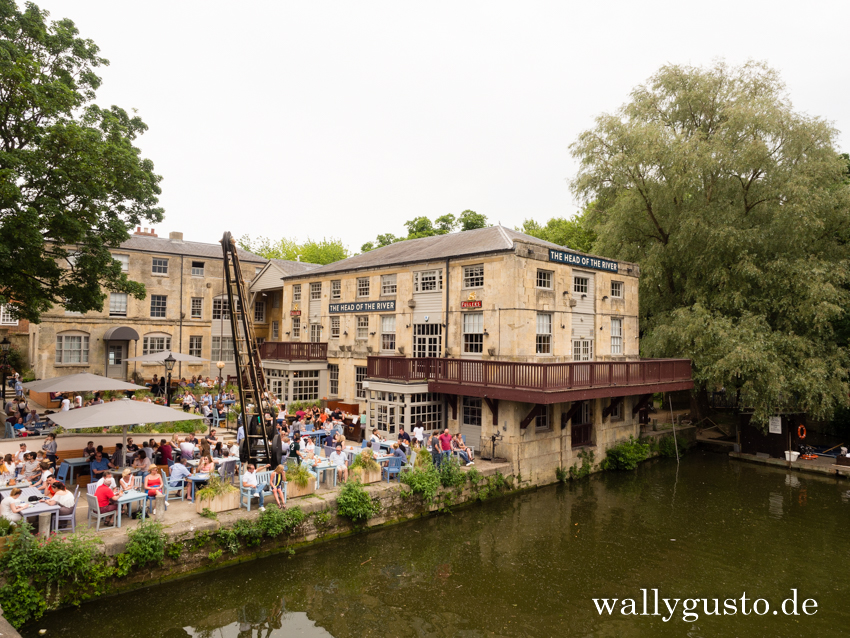 Travel Guide Oxford | The Head of the River