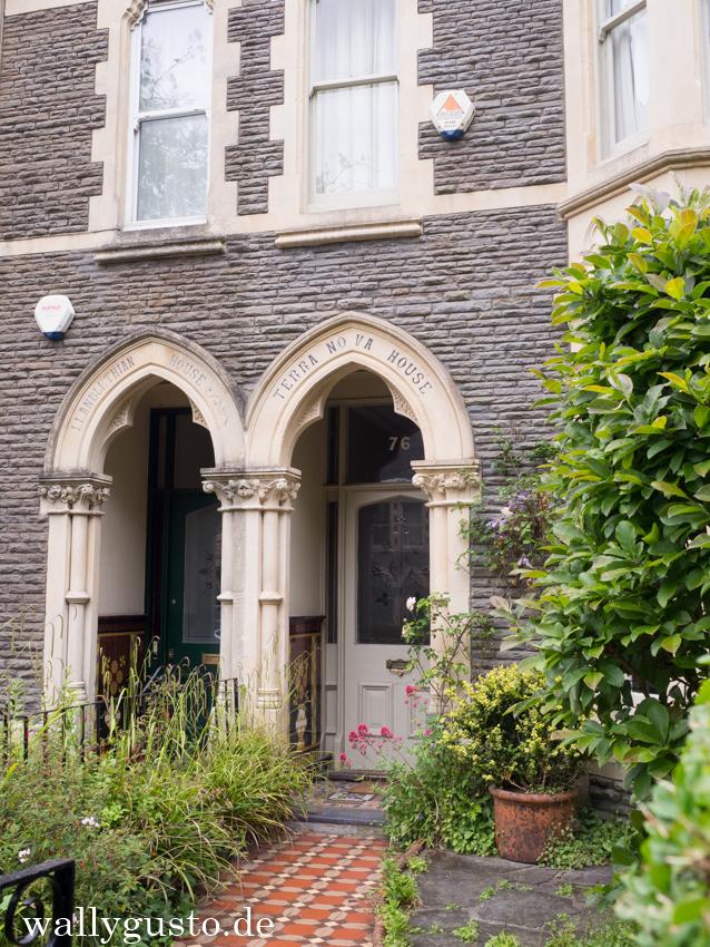 Viktorianische Straßen in Cardiff | Wales
