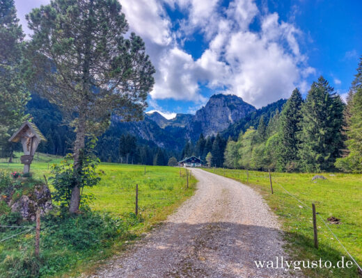Wanderung auf den Längenberg #wallygustosunterwegs