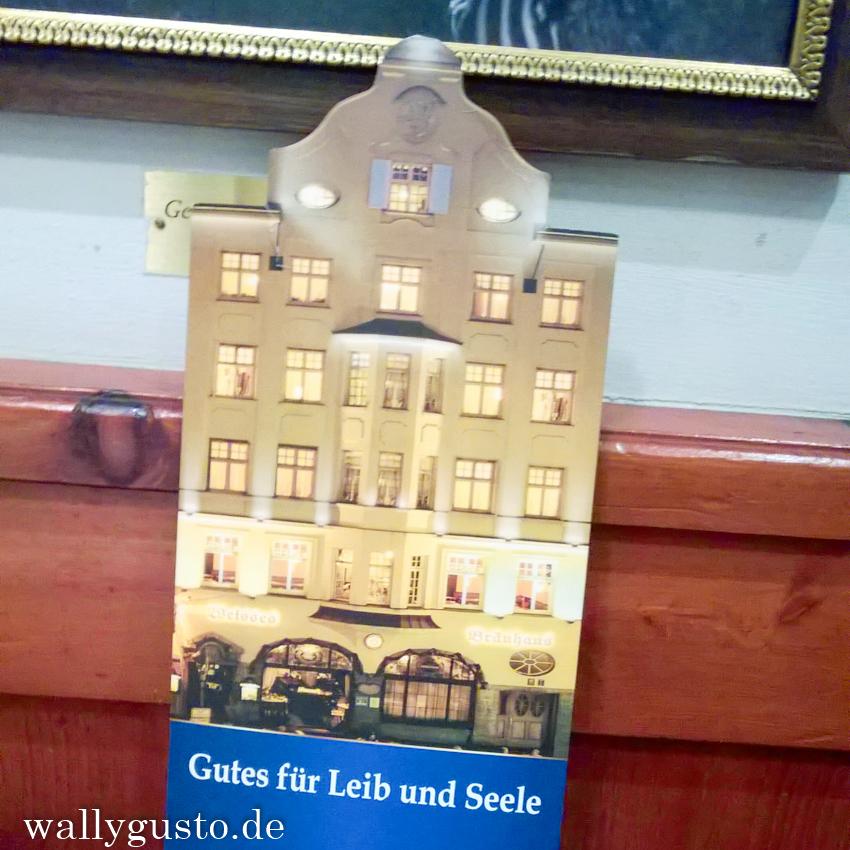 Gutes für Leib & Seele: Das Weisse Brauhaus in München