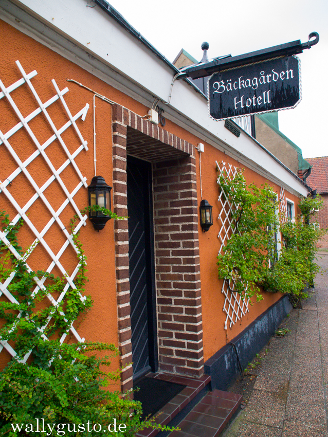 Das Backgarden Hotell in Ystad