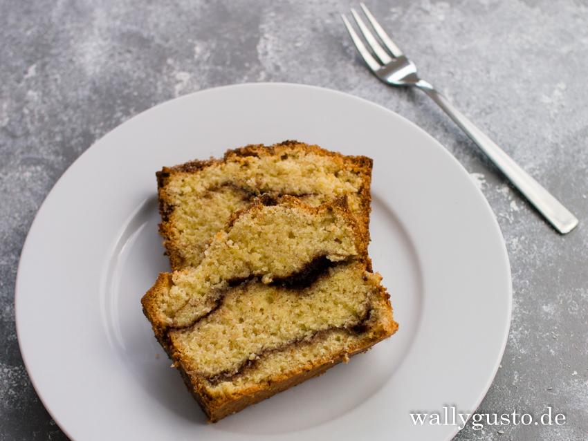 Zimtschneckenkuchen | Rezept auf www.wallygusto.de