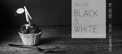 "{Blogevent ""Black & White""} Ravioli mit Walnuss-Ricotta-Füllung"