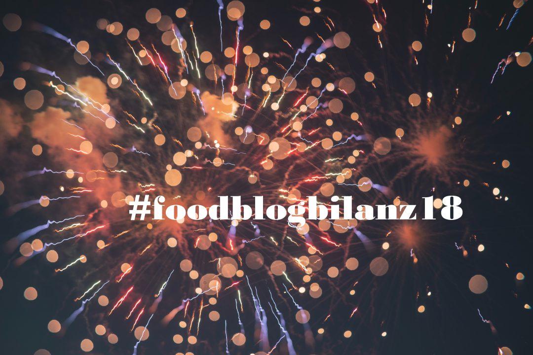 Kaum zu glauben, aber schon wieder ist ein Jahr rum - Zeit für unsere persönliche #foodblogbilanz18! Natürlich kommt auch diese nicht ohne Rezepte aus! ;-)